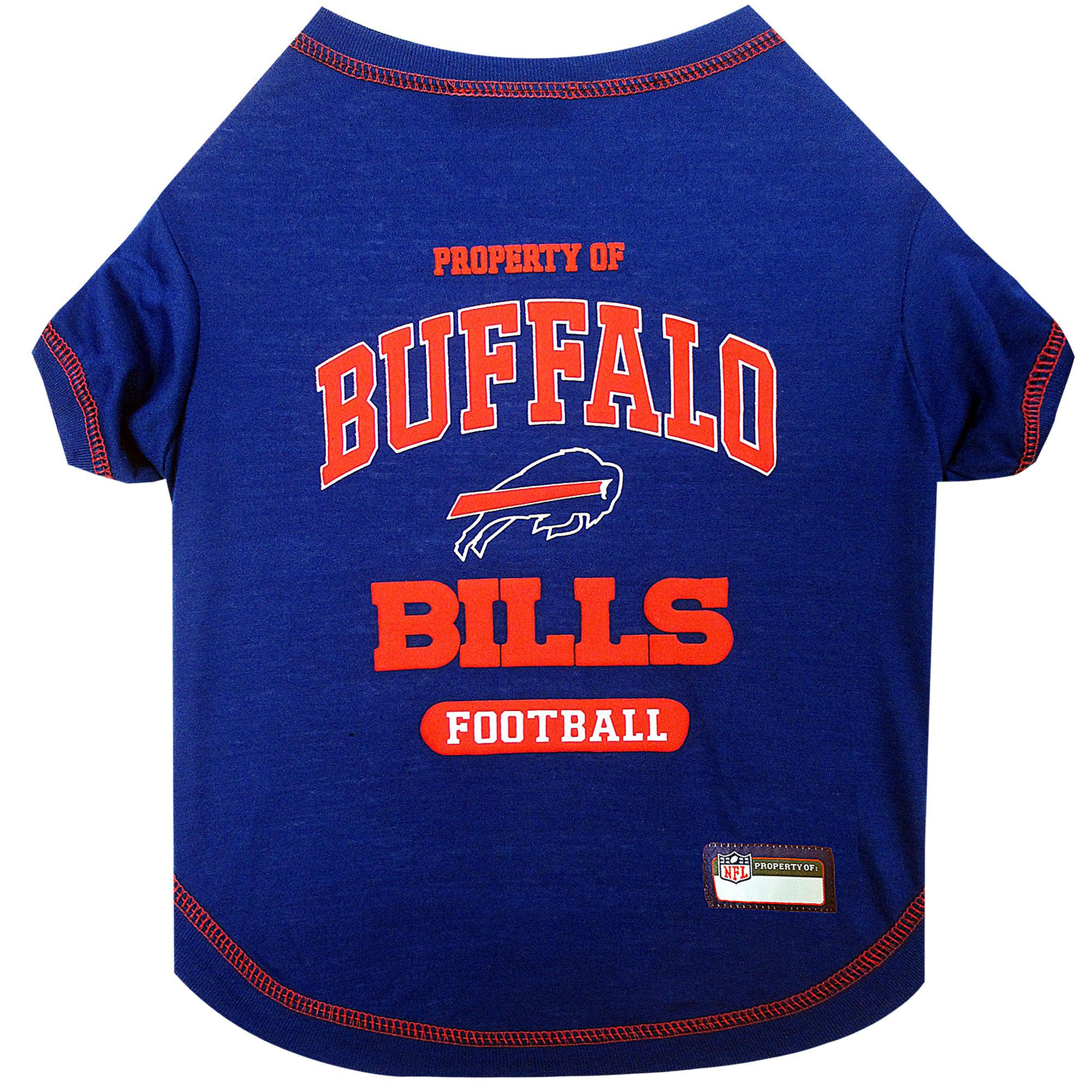 Pets First Buffalo Bills T-Shirt, X-Small