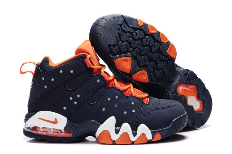 Nike Air Max2 CB 94 Charles Barkley semi cushion sneakers dark men blue