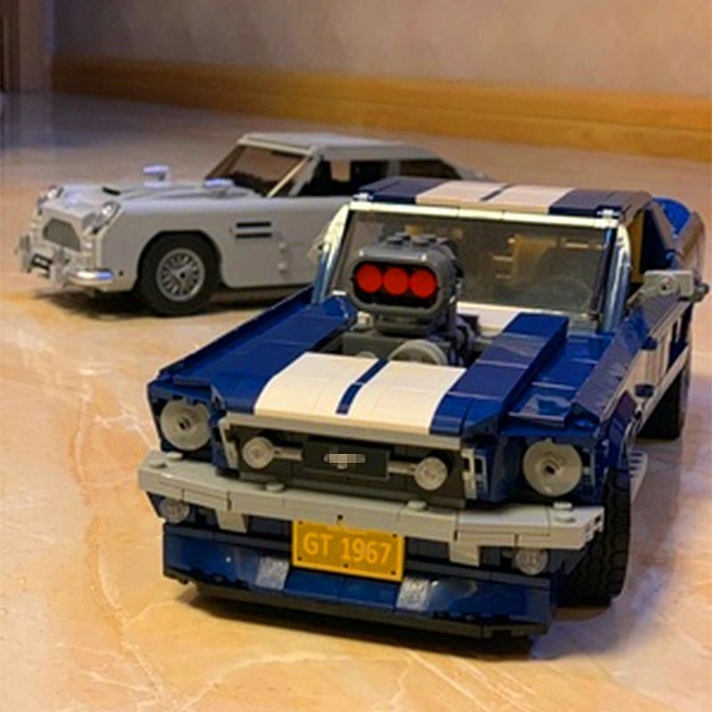 Brand New Custom Mustang GT 1967 Compatible 10265 Set Free Shipping