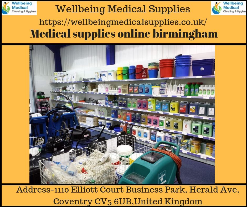 Wellbeing medical supplies services always at the