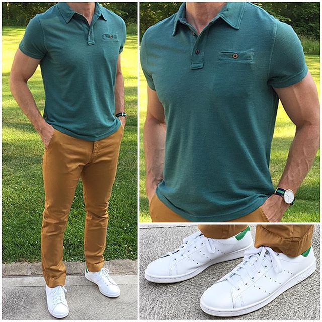 Summer Style Polo And Chinos A Polo And Chinos Is A