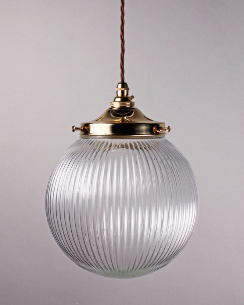 fitting globe bulb glass light metal brass pendant pin white shade incandescent chain lighting hanging