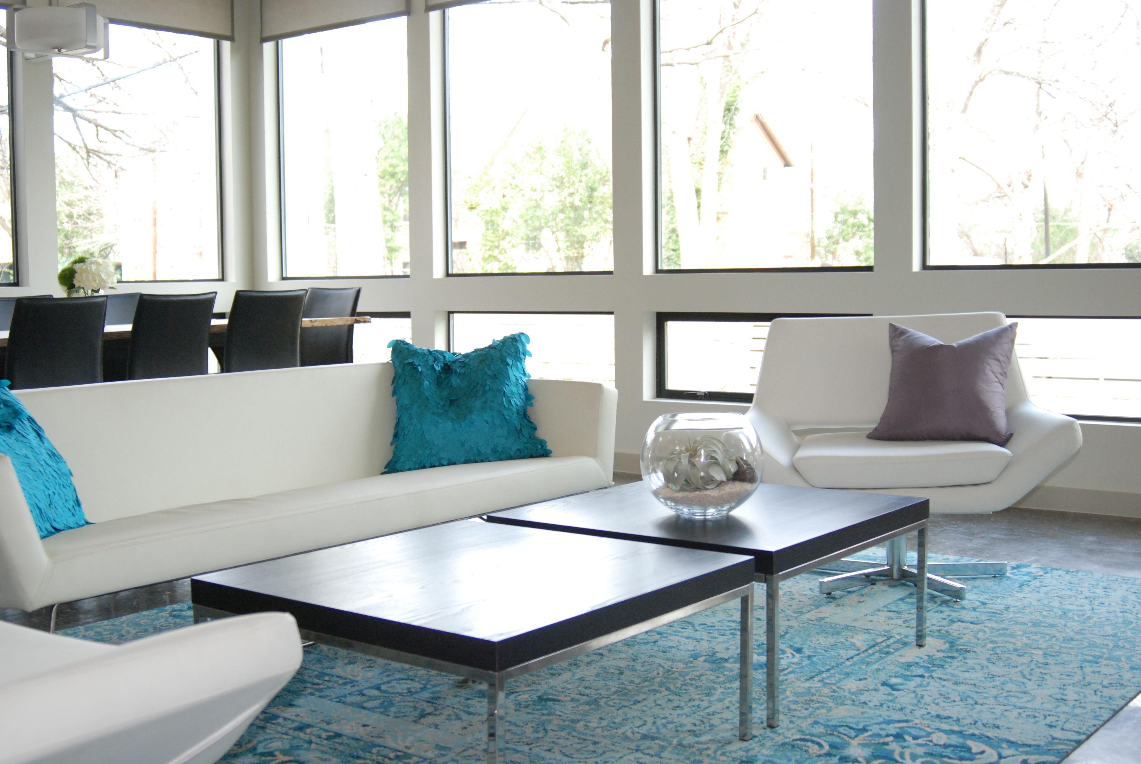 contemporary living room | Home Tours #Austin | Pinterest | Living ...