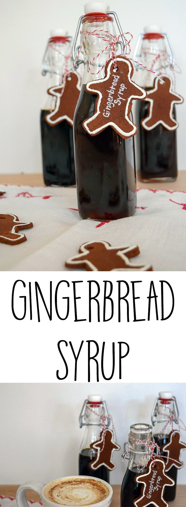 Gingerbread Syrup Recipe Gingerbread Syrup Homemade Coffee Syrup Spiced Coffee