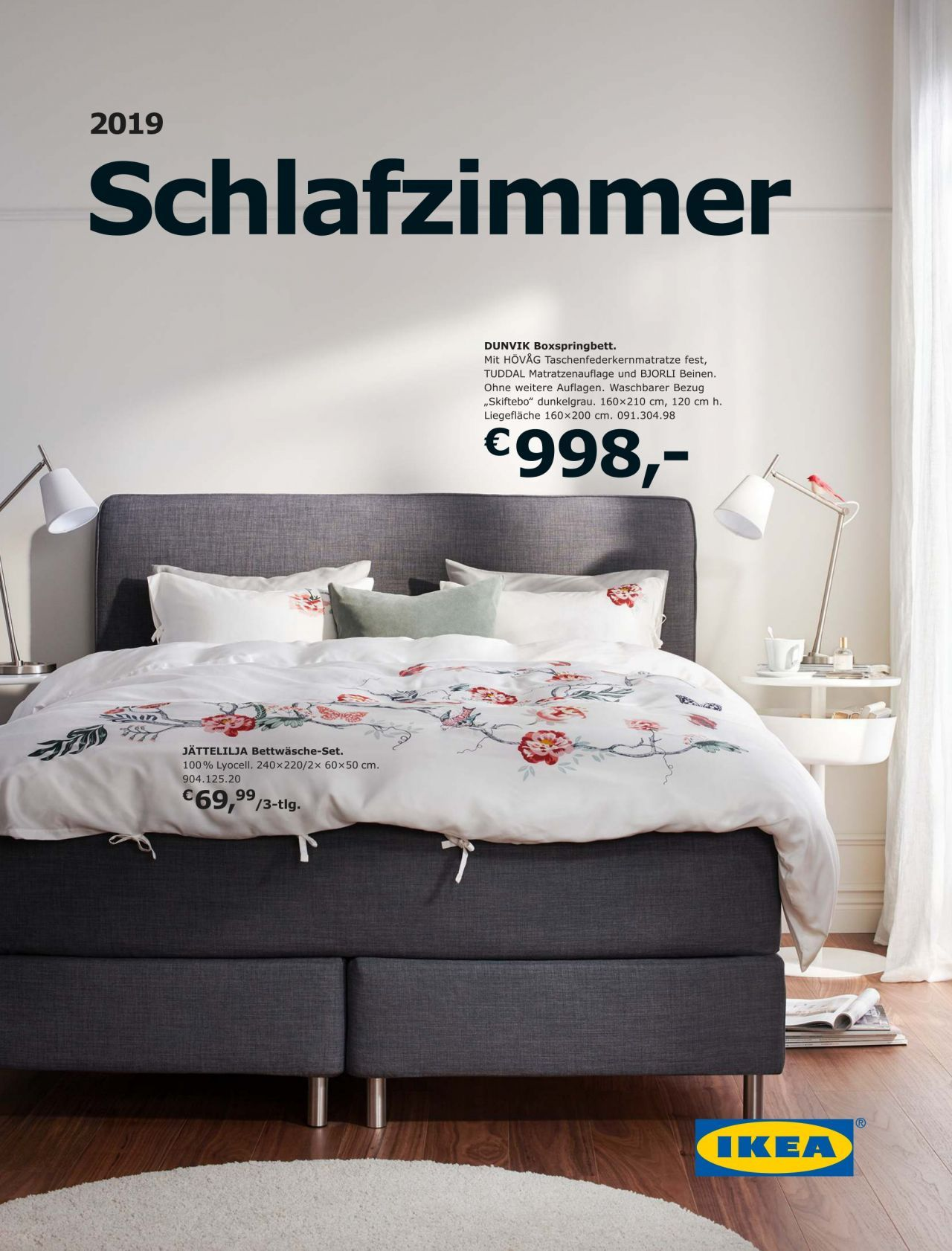 Schlafzimmer Ikea Katalog With Images Shared Bedroom Bed