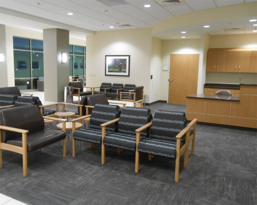 Medical office waiting room furniture for bariatric ...