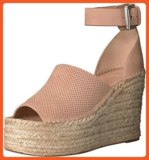 0c061c4b8a8bc Marc Fisher LTD Women's Adalyne Medium Natural Wedge - Sandals for ...