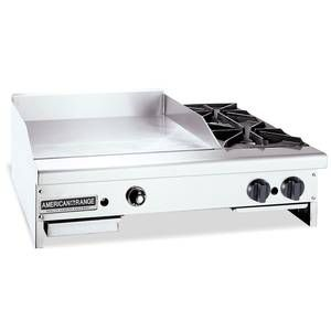 American Range Ar48 36tg2ob 48in Gas Griddle W 2 Open Burners Outdoor Bbq Kitchen Outdoor Barbeque Bbq Kitchen