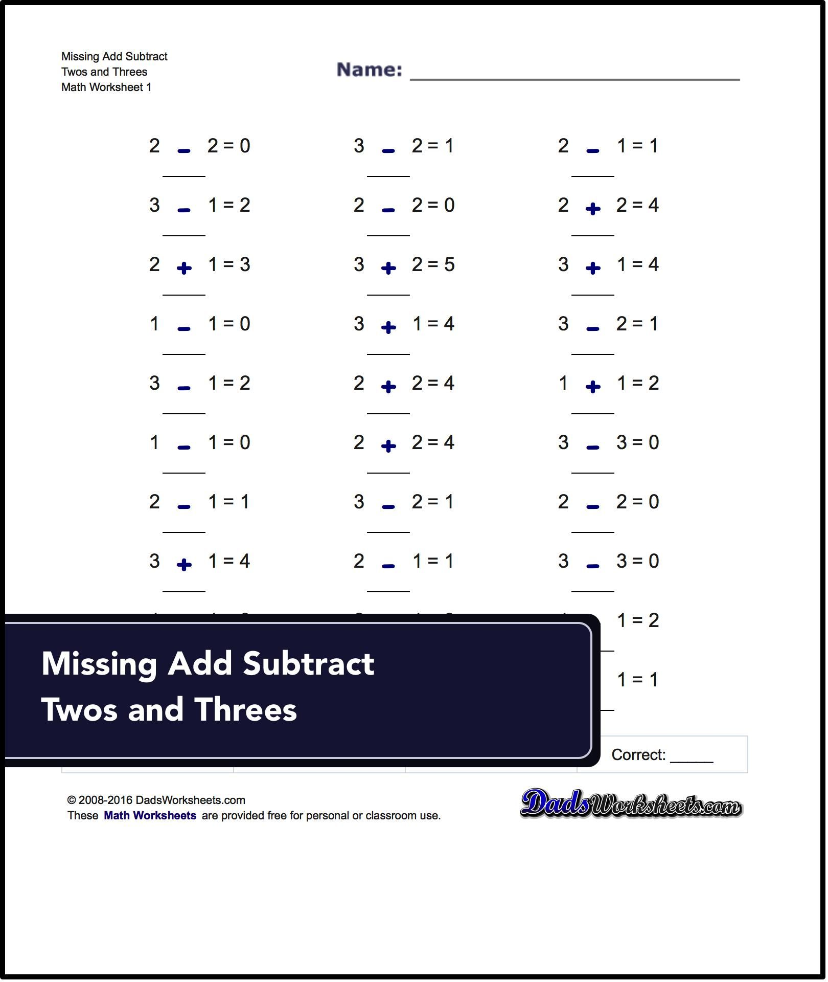 Links to free math worksheets for missing operations problems visit links to free math worksheets for missing operations problems visit dadsworksheets httpdadsworksheetsworksheetsmissing operations ibookread PDF
