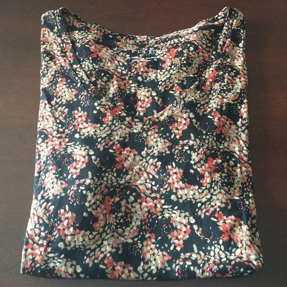 ELLE V-Neck Tee NWT. Super soft. Little detail on sleeves as seen in #4 photo. Elle Tops Tees - Short Sleeve