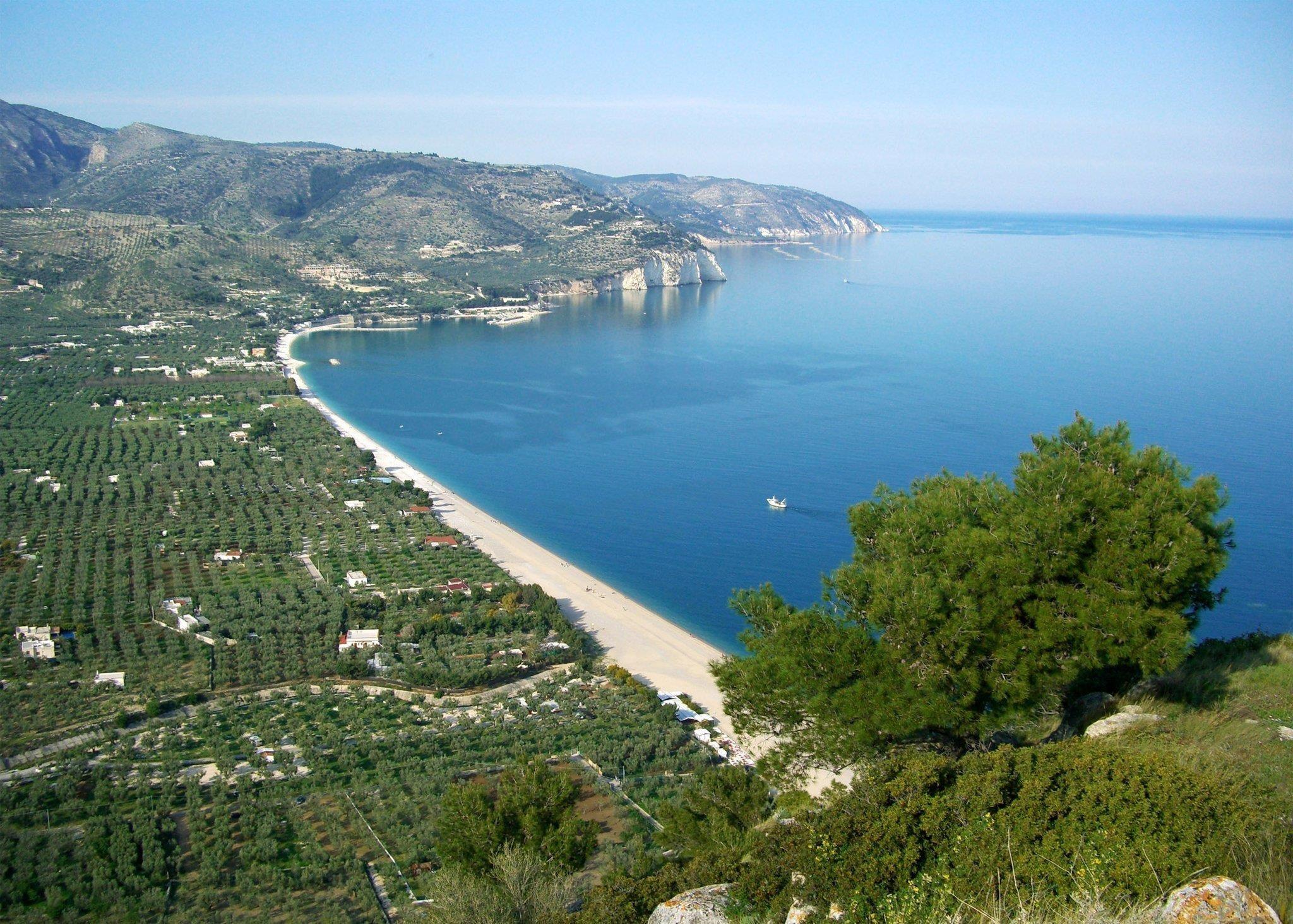 Italy Gargano dream Mattinata beach
