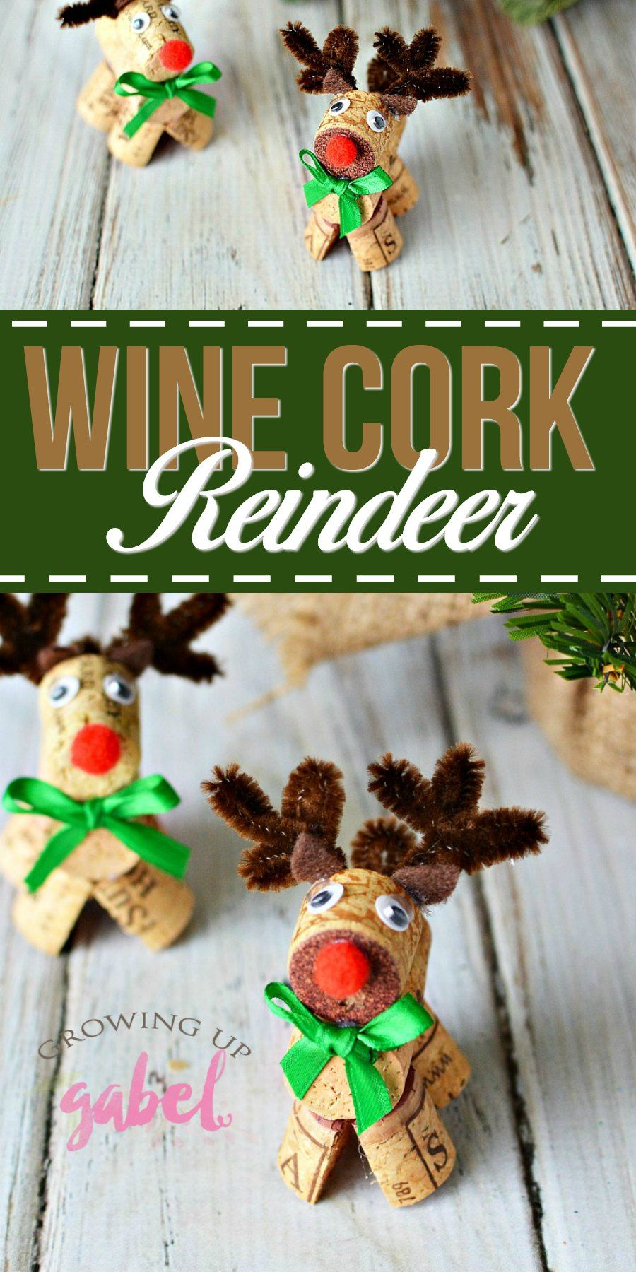 Click for the tutorial to make these adorable wine cork
