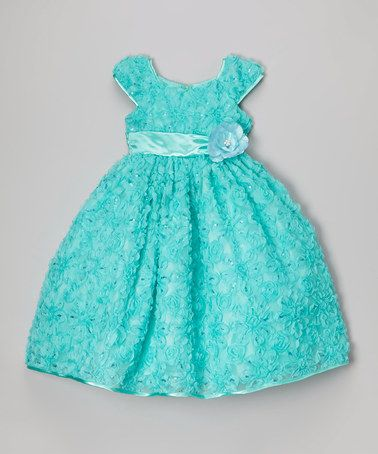 Another great find on #zulily! Mint Party Dress - Infant & Girls #zulilyfinds
