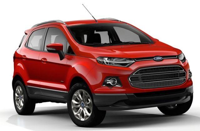 2017 Ford Ecosport Added Touchscreen Infotainment Car News