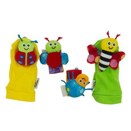 Lamaze Gardenbug Wrist Rattles Foot Rattle Set In 2019 Baby Sensory Toys Baby Sensory Baby Toys