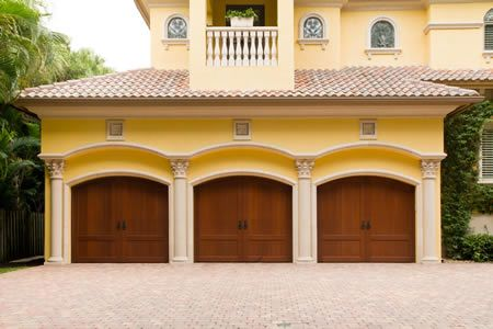 Fort Worth Dallas Garage Doors Cedar Mahogany Wood Garage Doors