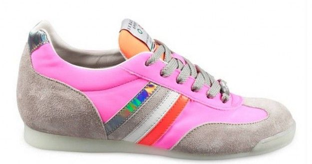 Sneakers fluo rosa