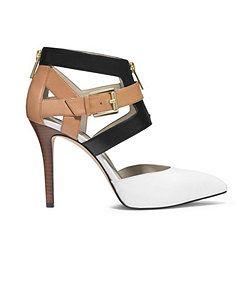 22120353da5 MICHAEL Michael Kors Anya Back Zip Pointed-Toe Pumps | Shoes and ...