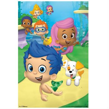 Bubble Guppies Birthday: 3 Foot Wall Decor Party Supplies Canada ...