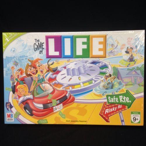 The Game of Life Family Board Milton Bradley 2007 SEALED College Career New NIP | eBay #gameoflife #life