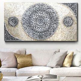 Cuadro para sof s elegantes y originales cuadros for Cuadros originales salon