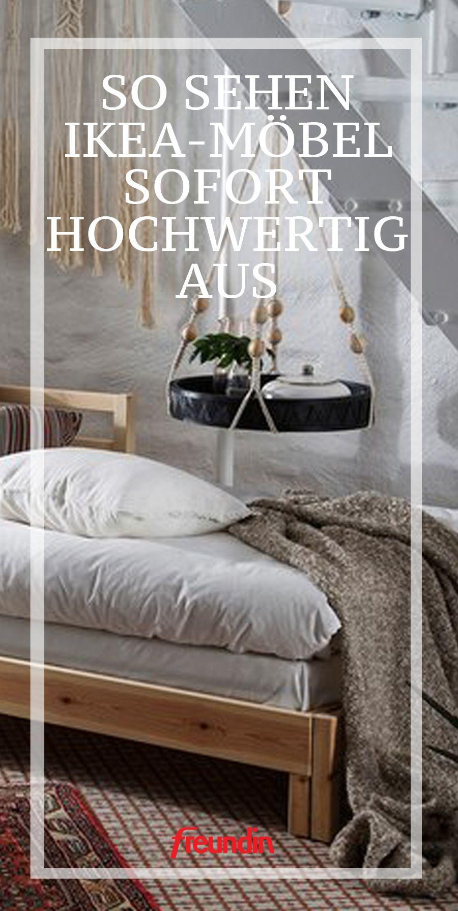 Das lässt Ikea-Möbel hochwertiger aussehen  | freundin.de #schönerwohnen