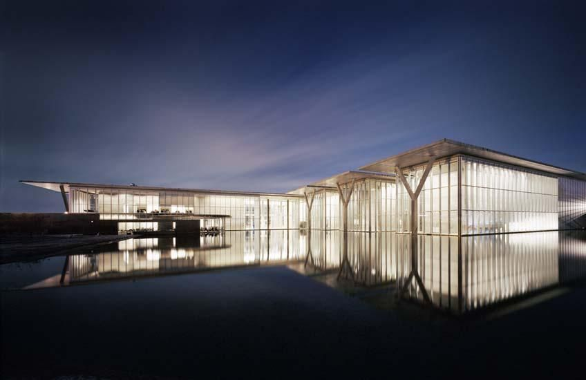 The Modern Art Museum Of Fort Worth Designed By Japanese Architect Tadao Ando In 2002 Really Ft Ok