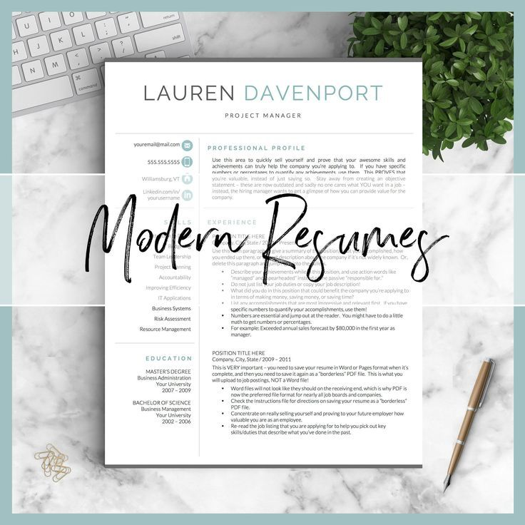 Modern Resume Templates That Are Guaranteed To Stand Out Tens Of