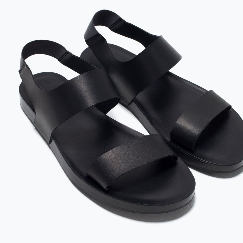 95456e246 DRESSY LEATHER SANDALS-Shoes-Man-SHOES & BAGS | ZARA United States ...