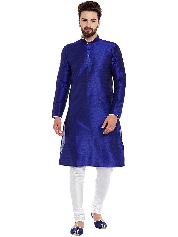 grande vente bfa95 aac3c Larwa Men's Silk Kurta Pyjama Set: Amazon.in: Clothing ...