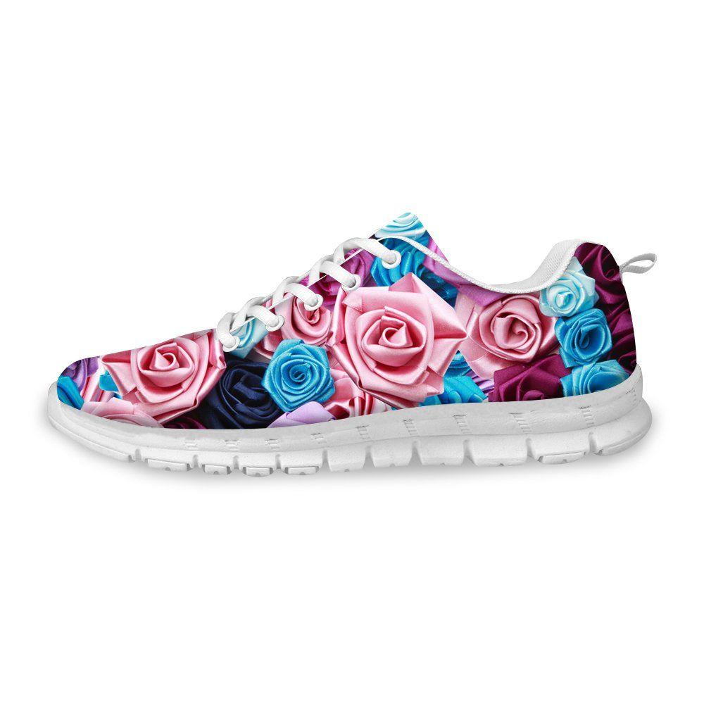 3f49bc76057fe Amazon.com   FOR U DESIGNS Women's Running Sneaker Lightweight Go ...
