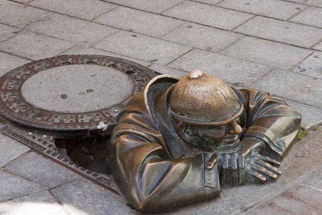 manhole ,bratislava slovakia <3