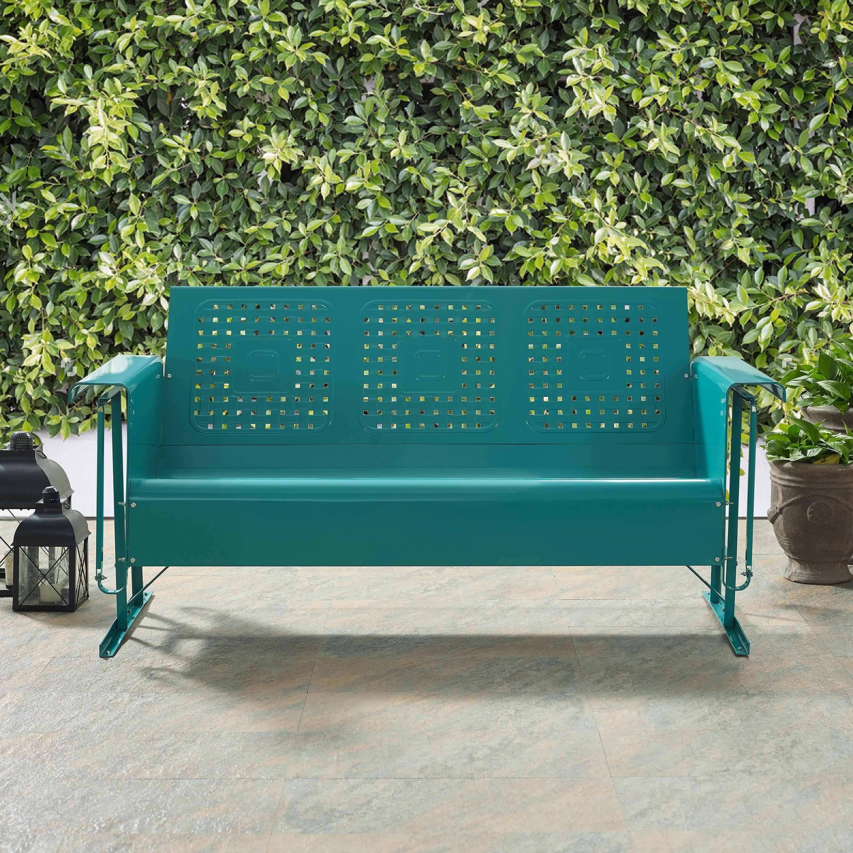 Crosley Furniture Co1004a Veranda Loveseat Glider White Patio Furniture Love Seat Patio Loveseat