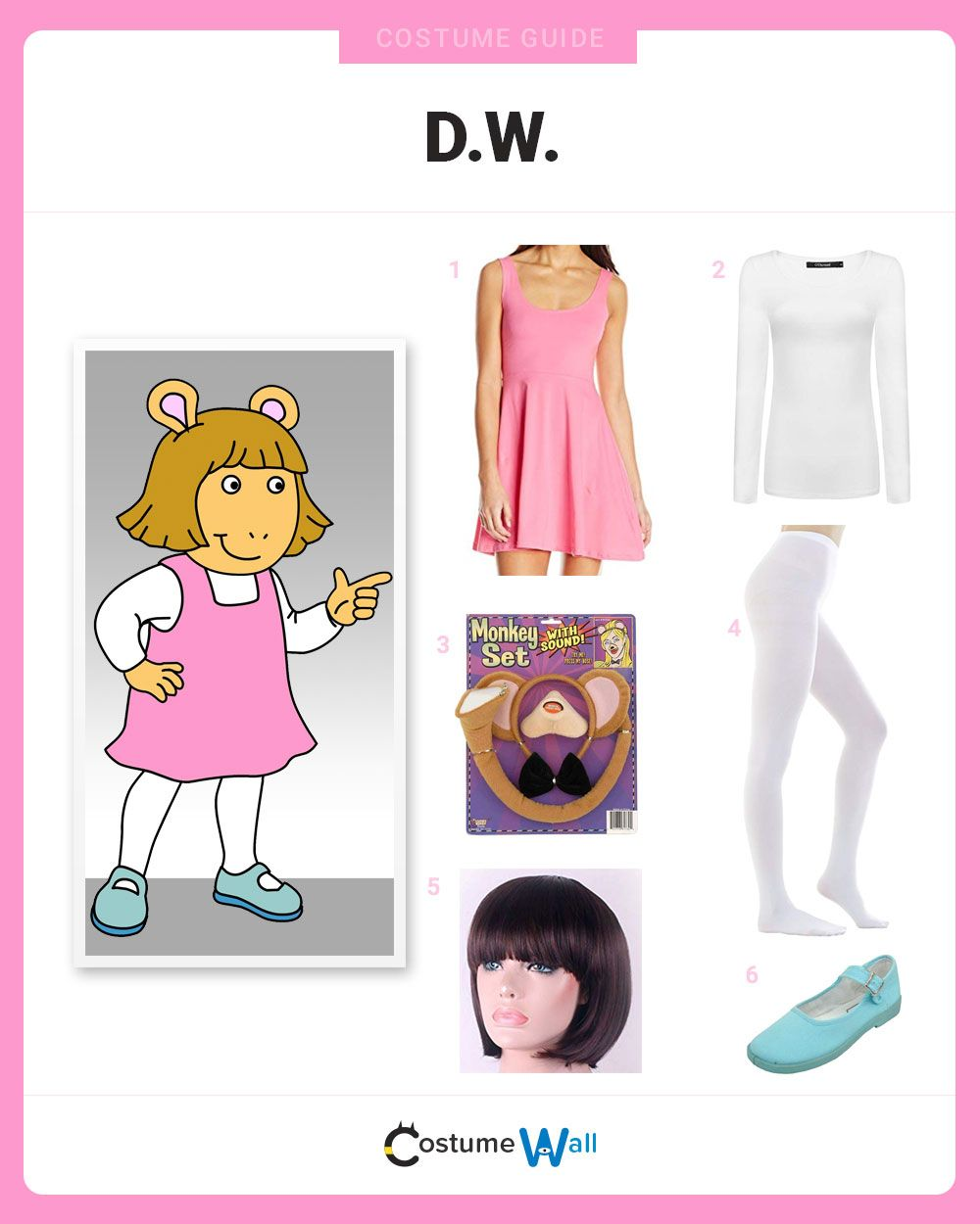 Dress Like D.W.