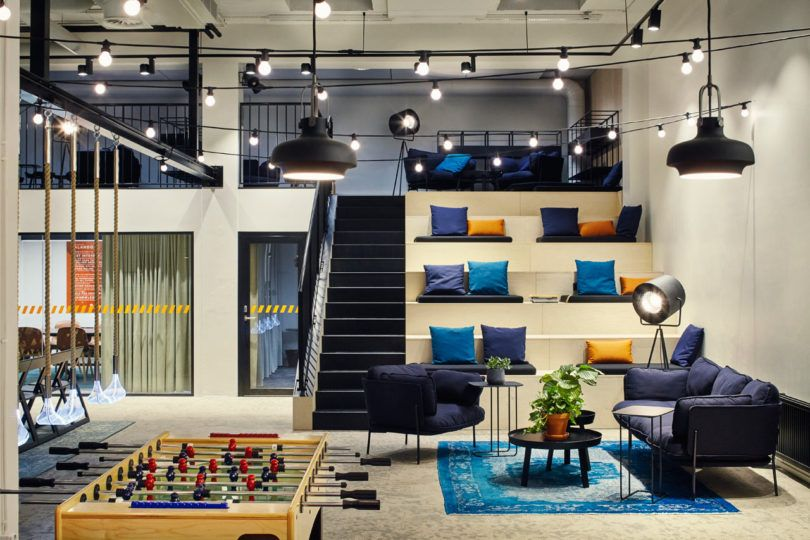 A Tech Company In Helsinki Upgrades To A New, Fun Office Space   Design Milk
