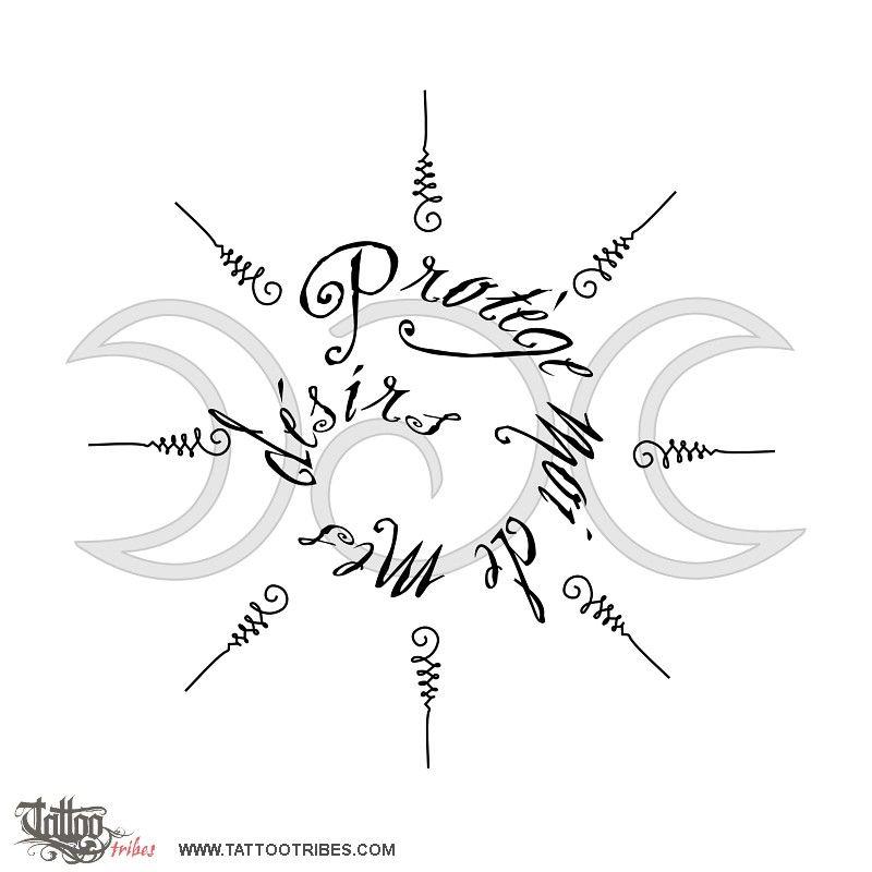 Id Love A Moongoddess Tattoo I Like The Mix Of Triple Moon And