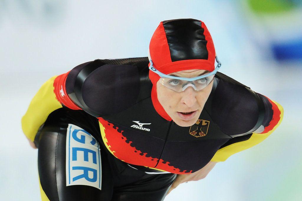 German Speed Skater Ani Friesinger   Hot & Juicy