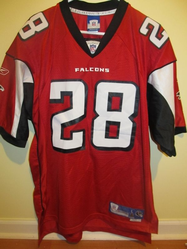Warrick Dunn Atlanta Falcons Authentic Jersey Large | Items for