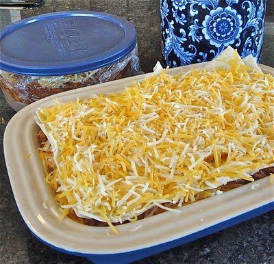 Left Over Pork Roast Make Enchilada Casserole With It