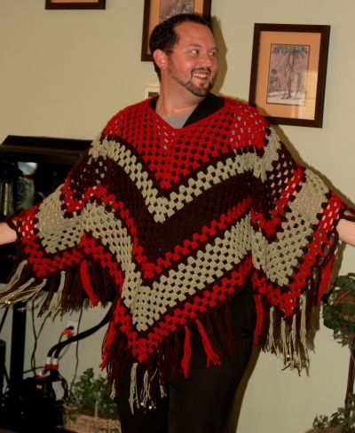 Girls and Grannies - a free crochet poncho pattern | Ponchos ...