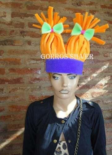 d346bd683 Pelucas De Goma Espuma | puppets | Sombreros locos, Cotillon y ...