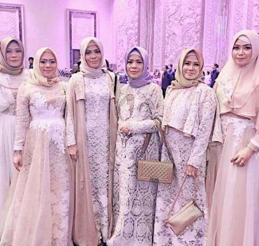 Model Busana Muslim Brokat Terbaru Muslimah Hijab Fashion Abaya