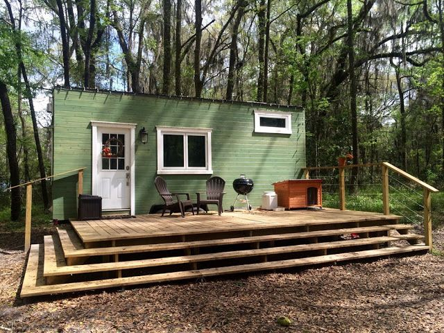 Gainesville Tiny Home (190 Sq Ft) in 2018 Tiny house ideas