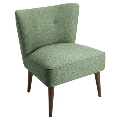 Best Chadwick Armless Accent Chair Teal Homepop Armless 400 x 300