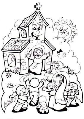 Materiales De Religion Catolica Abril 2013 Iglesia Ninos Biblia Para Preescolares Ninos Catolicos