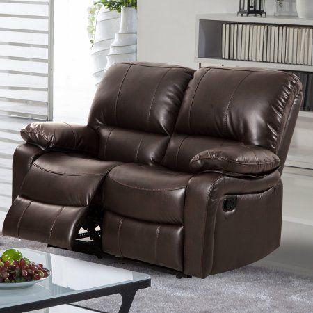 Awe Inspiring Generic Evelyn Leather Gel Reclining Loveseat Dark Brown Ibusinesslaw Wood Chair Design Ideas Ibusinesslaworg