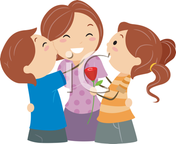 Hugs Mother S Day Clipart Children Illustration Royalty Free Clipart Children Images