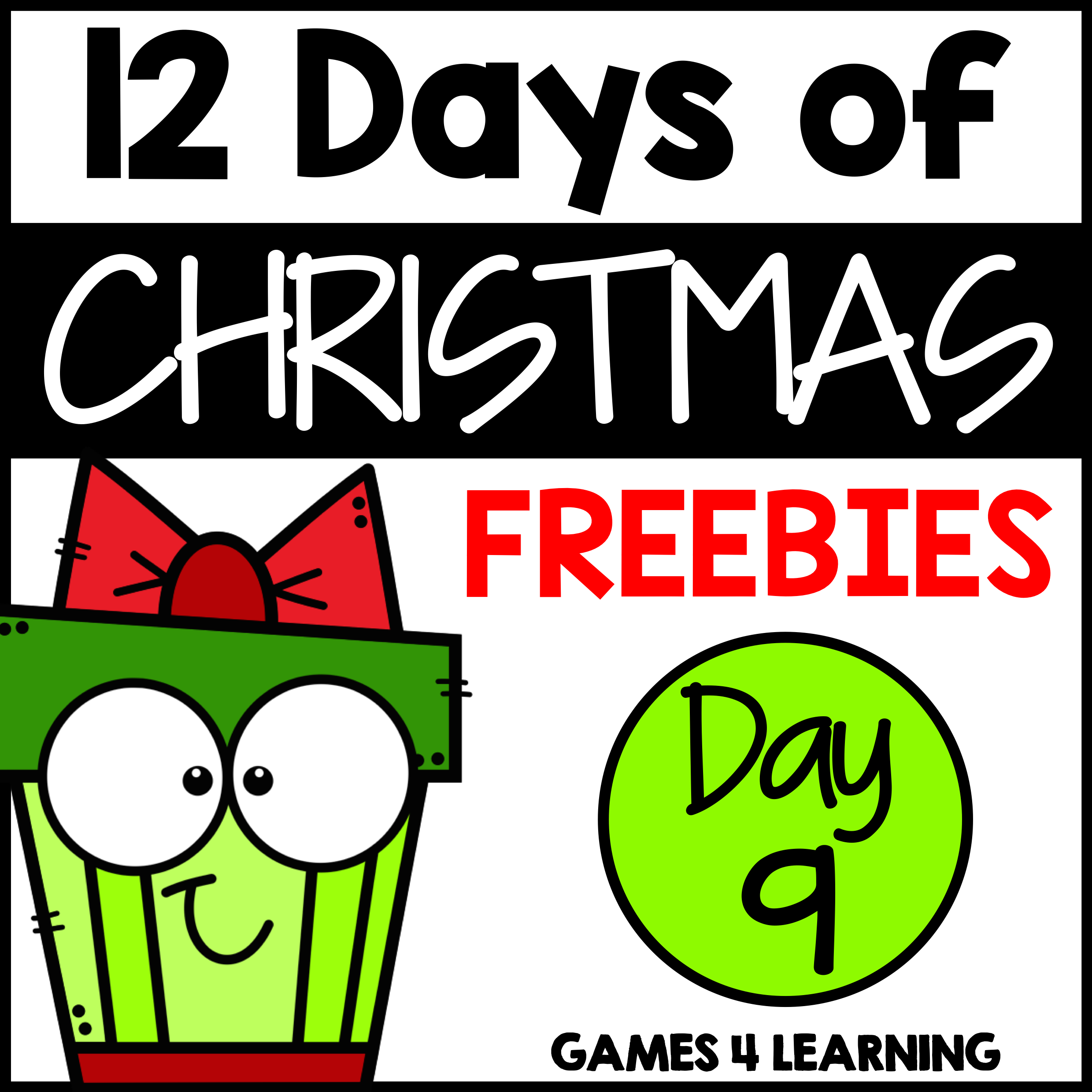 Another Christmas Freebie From Our 12 Days Of Christmas Freebies And Discounts Teacherfreebies Christmas Math Games Christmas Freebie Christmas Math [ 2479 x 2479 Pixel ]