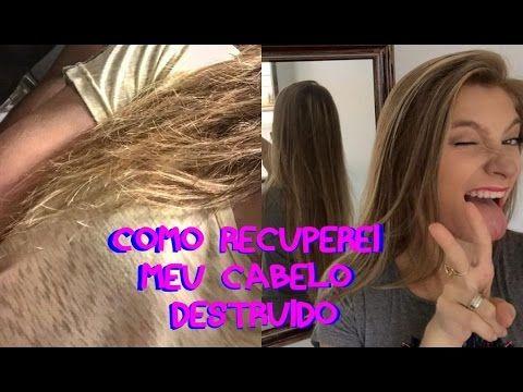 Como recuperei meu cabelo DESTRUIDO | LISO SEM QUIMICA E SAUDAVEL - YouTube