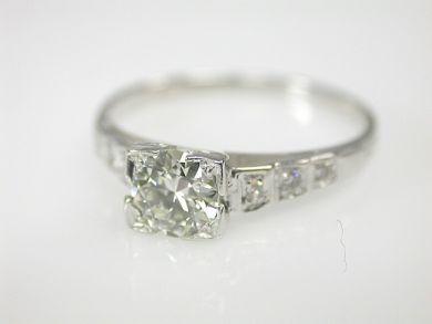 Art Deco Engagement Ring Art Deco Engagement Ring Engagement Rings White Gold Engagement Rings